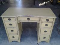 Beautiful old desk just refinished and antiqued in a