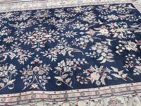 "Beautiful asian rug for sale, measuring 9'5"" broad by"