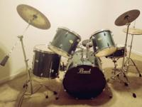 I have a beautiful pearl drum set i have all the