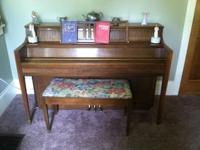 For Sale ~ Chickering Piano. This piano has always been