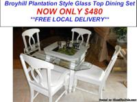 Broyhill Plantation Style Dining Set Here is a