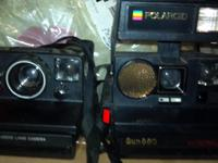 I have two instant developing cameras. One is a Pronto