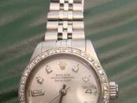 STUNNING ROLEX LADIES DATEJUST Stainless Steel Model