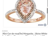 This is a beautiful Rose Gold ring size 5.25 but can be