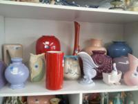A large variety of Royal Heager potter, all sizes and