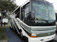 We are renting our beautiful RV: 35 Foot Diesel Pusher