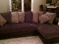Gorgeous sectional sofa. I've only had it 6 months and
