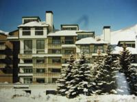 Beautiful 2 BR 2 bath condo in Vail, CO. Facing the