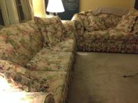 The sofas are beautiful and are in good condition. The