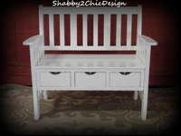 This bench is in great condition. It is solid wood with
