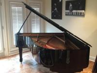 I am selling this beautiful ebony-polished Steinway and