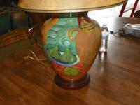 "I HAVE 1 ONLY TABLE LAMP IT IS 37"" TALL BASE IS ABOUT"