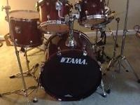 I'm selling my TAMA Starclassic. Birch w/lacquer finish