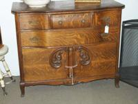 Right here is a gorgeous Tiger Oak Buffet excellent for