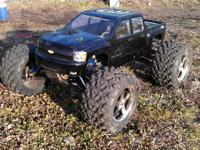 For sale a ADULT OWNED Nitro TRAXXAS REVO 3.3 With
