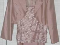 BEAUTIFUL TWO PIECE SIZE 10 JESSICA HOWARD DRESS. THIS