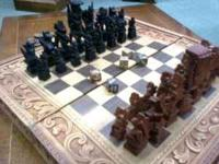 If the ad is still up the chess set is still available