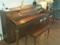 Beautiful upright piano I've had for over 10 years, but