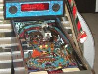 Beautiful used King Pin pinball machine by Gottlieb