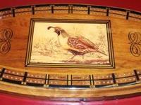 Beautiful Vintage Wooden Cribbage Set! (pic 1) Painting