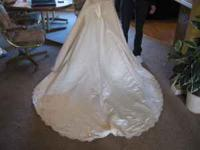 I have a beautiful off white wedding dress with veil