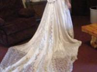 BEAUTIFUL WEDDING GOWN SIZE 6 ALFRED ANGELO  // //]]>