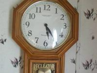 I HAVE A BEAUTIFUL STERLING AND NOBLE WALL CLOCK,ITS