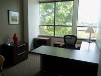 This large fully furnished office offers a beautiful