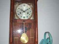 BEAUTIFUL WINDUP CLOCK CAROL  OR TED  THANKS WE PAID