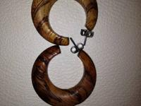 I have these great wooden jewelry pieces. You will get