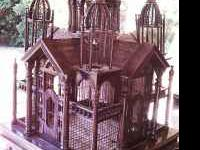 Beautiful Bird House, its a mansion for a bird! Great