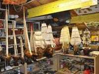 Relive the age of sail! Bermuda Rig, Square Rig,