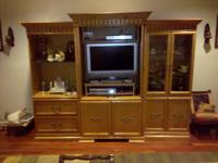 Wall Unit on sale- Look at images - Bought 2 years ago