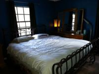 Up for sale or trade!Really beautiful king size bed