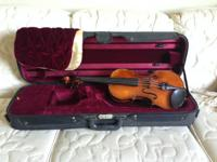 I'm selling a stunning, handcrafted violin with a