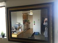 beautiful antique looking mirror 41''x51'', bought it