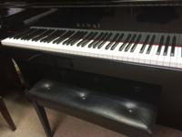 UP FOR SALE IS A VERY NICE KAWAI PIANO THAT WILL FIT
