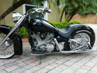 Beautiful Custom 1999 Yamaha Road Star that has