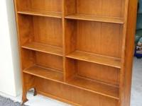 Lovely Ethan Allen Rack / Hutch Solid Maple Wood