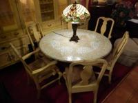 Beautiful French Provencal Flower Armchair $75 Each