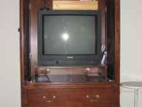 Beautiful, armoire. Dark wood, excellent condition,