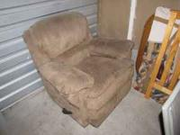 This is a Beautiful Mirco-Fiber Recliner. The color is