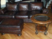 NAILHEAD SOFA AND LOVESEAT, A SECOND BEAUTIFUL SOFT
