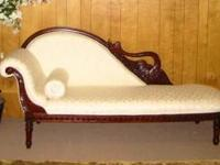 Beautiful sofa, intricate carvings. Available in