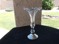 This(as pictured) is a beautiful vintage fluted glass