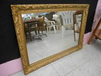"Beautiful Mirror Measures 42"" Long and 30"" Top to"