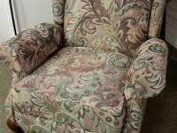 Right here is a gorgeous wingback reclining chair that