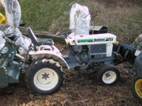 I AM SELLING A PRISTINE BOLENS/ISEKI COMPACT TRACTOR.