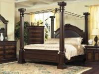 DREAM BEDROOM SET INCLUDES ALL PIECES. RETAILS FOR