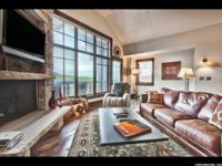 Beautifully positioned in Upper Deer Valley, this